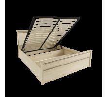 Корпус кровати 1,6 м ЛКР-1 (1,6), с подъемным механизмом, Ливорно, Дуб сонома