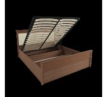Корпус кровати 1,6 м ЛКР-1 (1,6), с подъемным механизмом, Ливорно, Орех донской