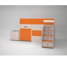 Кровать-чердак Малютка (Оранжевый)