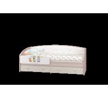 Кровать-софа с бортиком Цирк латофлексы