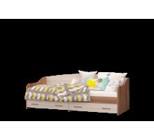 Кровать-софа Вояж одинарная с 2 ящиками латофлексы