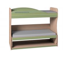 Кровать-трансформер 2 Калейдоскоп, Зеленая радуга