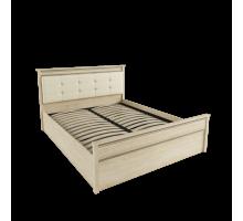 Кровать 1,4 м ЛКР-1 (1,4) с ортопедическим основанием, Ливорно, Дуб сонома