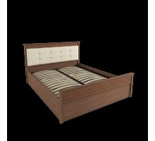 Кровать 1,4 м ЛКР-1 (1,4) с ортопедическим основанием, Ливорно, Орех донской
