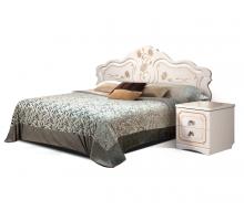 Кровать 1600 Мелани 1 (без мягкого элемента) КМК 0434.6-01.1