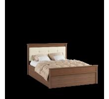 Кровать 1,6 м ЛКР-1 (1,6) с настилом, Ливорно, Орех донской