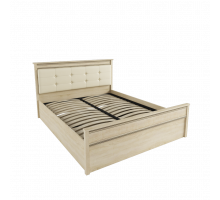 Кровать 1,6 м ЛКР-1 (1,6) с ортопедическим основанием, Ливорно, Дуб сонома