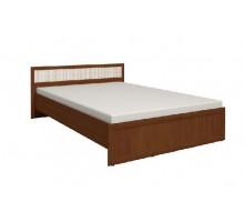 Кровать 1 Милана 160*200 см (Орех)