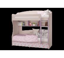 Кровать 2-х ярусная Адель латофлексы