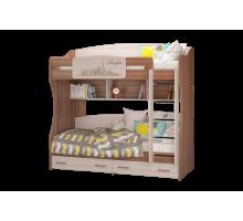 Кровать 2-х ярусная Вояж латофлексы