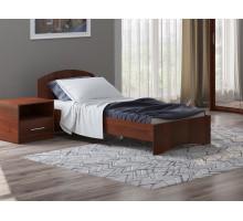 Кровать без ящика 1400 (Орех итальянский)