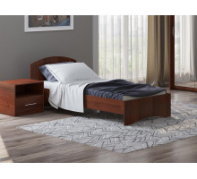 Кровать без ящика 1600 (Орех итальянский)
