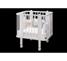 Кровать деревянная детская Оливия базовая белый