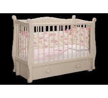 Кровать Джулия слоновая кость