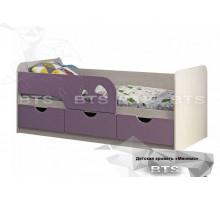 Кровать Минима Лего-2, лиловый сад