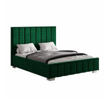 Кровать Мирабель под подъемный механизм 140*200 зеленая