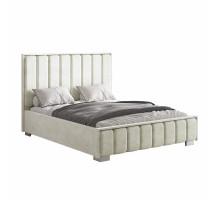Кровать Мирабель под подъемный механизм 160*200 кремовая