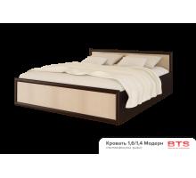 Кровать на 140 с настилом, без матраса Модерн