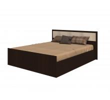 Кровать на 1600 с поддоном, без матраса Фиеста, венге