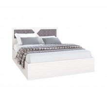 Кровать Николь 1.4 м Ясень шимо светлый