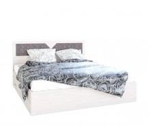 Кровать Николь 1.6 м Ясень шимо светлый