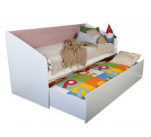 Кровать односпальная 80х200 с ящиком Флер Ф17
