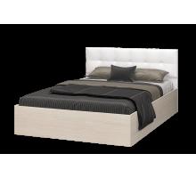 Кровать Селена 1200 дуб атланта/экок.vega white