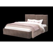 Кровать Сити 1200 ткань ROCK 05/коричневый,без основания