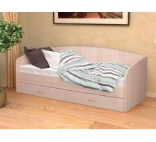 Кровать Софа-1 900 (Дуб беленый)