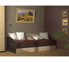 Кровать Софа-1 900 (Венге/Буб атланта)