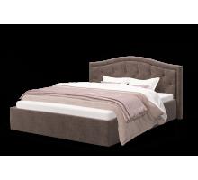 Кровать Стелла 1200 ткать ROCK 05/коричневый