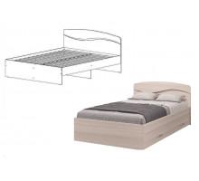 Кровать Валенсия 1200, без ящиков, без матраса