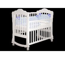 Кроватка детская Амалия белая