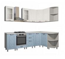 Кухня Афина айс/арктик 2.4 х 1,5 м