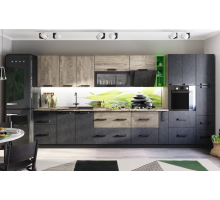 Кухня Крафт Комплект 1 бетон/дуб эндгрейн