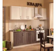 Кухонный гарнитур КВАДРА 1800