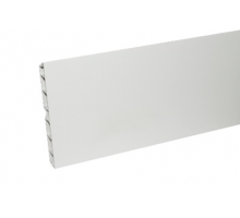 Кухонный цоколь ПВХ 2000*100 мм, белый