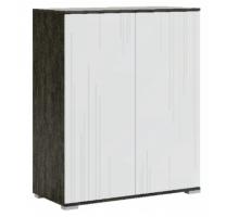 Лайн мод № 4 шкаф комбинированный, Рич Блэк