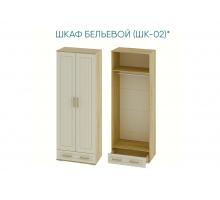 Маркиза Шкаф двухстворчатыйбельевой ШК-02