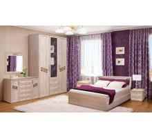 Модульная спальня Адель. Комплект 2