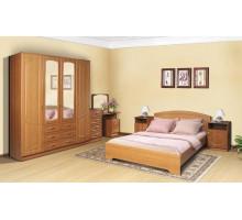 Модульный набор для спальни Венеция. Комплект 1 (Итальянский орех)