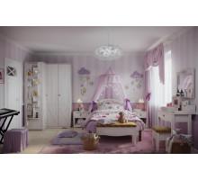 Молодежная комната ADELE (Адель), ясень анкор светлый. Комплект 3