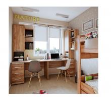 Молодежная комната NATURE. Комплект 1