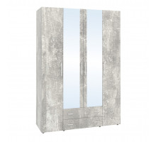 Монако 555 Шкаф для одежды и белья, Atelier светлый
