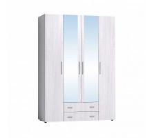 Монако 555 Шкаф для одежды и белья, Белый