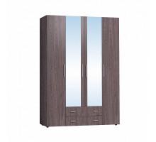 Монако 555 Шкаф для одежды и белья, Ясень Анкор Темный
