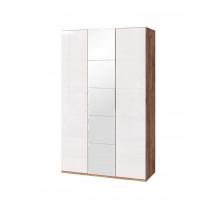 Монреаль (01) Шкаф для одежды и белья 3-х дв. с зеркалом