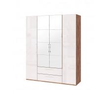 Монреаль (02) Шкаф для одежды с ящик 4-х дв. с зеркалом