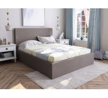 Мягкая кровать Милана с подъемным механизмом 1400