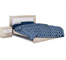 Ника Н20 Кровать 160*200 см с мягким элементом (без ортопеда, без матраса)